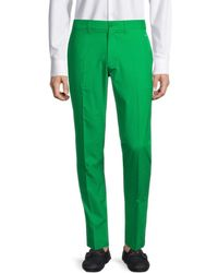 J.Lindeberg Men's Elof Tapered Trousers - True Blue - Size 30 32 - Green