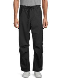 Y-3 Men's Regular-fit Cargo Pants - Black - Size Xl