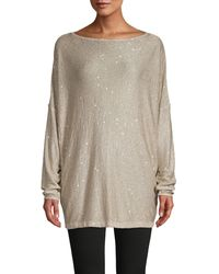 Free People All That Glitters Knit Tunic - Multicolour