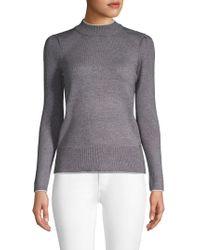 T Tahari - Mockneck Sweater - Lyst