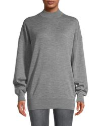 The Row Women's Macabe Cashmere-blend Sweater - Gray - Size S