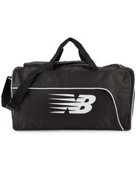 New Balance Men's Medium Training Day Duffel Bag - Black