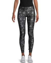 Terez Women's Printed Leggings - Black - Size Xs