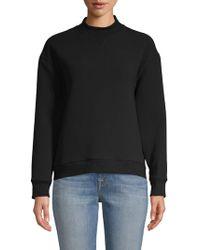 10 Crosby Derek Lam Turtleneck Sweatshirt - Black