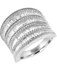 Effy 14k White Gold & Diamond Ring - Multicolour
