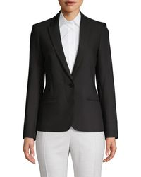 Zadig & Voltaire Women's Glitter Skull Jacket - Noir - Size Xs - Black