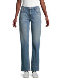 Current/Elliott High-waist Jeans - Blue