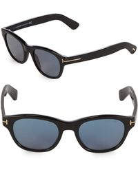 d66cb0f268b Tom Ford - 51mm Square Sunglasses - Lyst