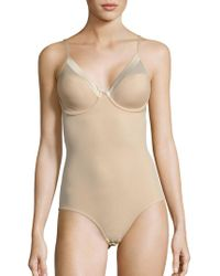 DKNY Firm Control Bodysuit - Natural