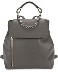 Calvin Klein The Statement Series Western Chain Faux Leather Backpack - Multicolor
