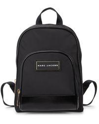 Marc Jacobs Logo Nylon Backpack - Black