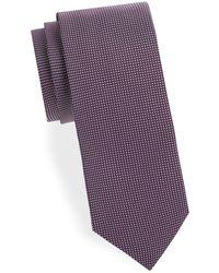 Eton of Sweden - Chequered Silk Tie - Lyst