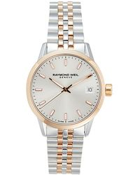 Raymond Weil Two-tone Stainless Steel Bracelet Watch - Metallic
