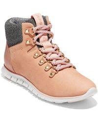 Cole Haan - Zerogrand Waterproof Hiker Boots - Lyst