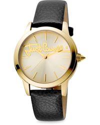 Just Cavalli Women's Logo Watch - Metallic