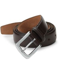 Cole Haan Dress Leather Belt - Black