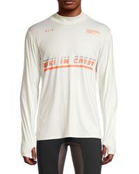Siki Im Athletecture Logo Running T-shirt - White