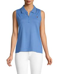 Tommy Hilfiger - Coolmax Sleeveless Polo - Lyst