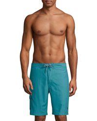 Tommy Bahama Baja Sands Solid Swim Trunks - Black