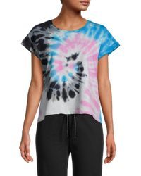Lea & Viola Spiral Tie-dye T-shirt - Gray