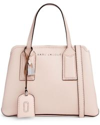 Marc Jacobs The Editor Leather Satchel - Pink