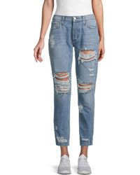 Siwy Giavanna Destructed Jeans - Blue