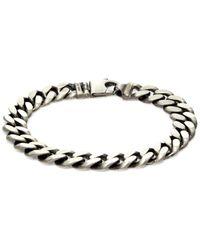 Effy Men's Sterling Silver Curb Chain Bracelet - Metallic