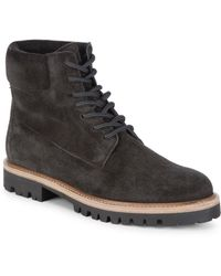 Vince - Farley Suede Boots - Lyst
