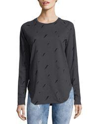 Chrldr - Thunderbolt Cotton Sweatshirt - Lyst