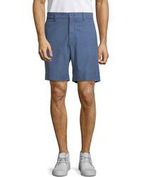 Tommy Bahama Ashore Thing Flat Front Shorts - Blue