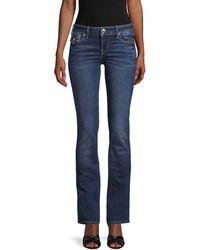 True Religion Billie Flap Big T Bootcut Jeans - Blue