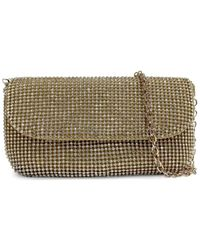 Badgley Mischka Women's Goldtone Beaded Evening Bag Clutch - Gold - Metallic