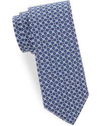 Saks Fifth Avenue - Silk Geometric Tie - Lyst