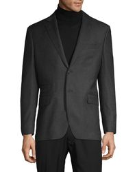Michael Bastian Notch Lapel Wool Jacket - Multicolour