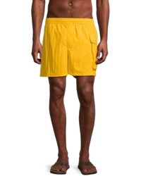 Y-3 3-pocket Swim Shorts - Yellow