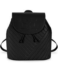 Sam Edelman Elise Faux Leather Backpack - Black