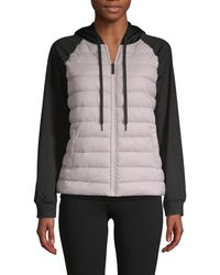 Marc New York Quilted Full-zip Jacket - Multicolour