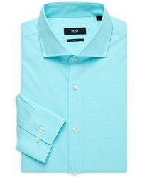 BOSS by HUGO BOSS Jason Slim-fit Dress Shirt - Blue