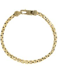 Effy Goldplated Sterling Silver Greek Box Chain Bracelet - Metallic