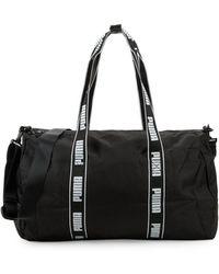a7bb7847708 PUMA Lifestyle Yoga Bag in Green - Lyst