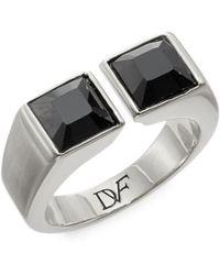 Diane von Furstenberg - Cubism Crystal Ring - Lyst