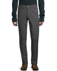 Ben Sherman Slim Straight Five-pocket Pants - Grey