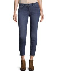3x1 - Midway Skinny Crop Jeans - Lyst