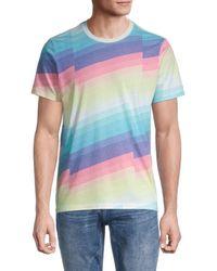 Sol Angeles Men's Zephyr Printed T-shirt - Zephyr - Size M - Multicolor
