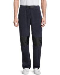 Champion Men's Polartec Trousers - Chalk White - Size S - Blue