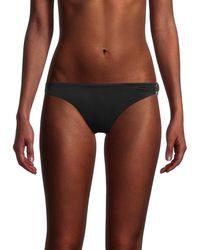 Love Moschino Women's Logo Bikini Bottom - Nero - Size 4 (xl) - Black