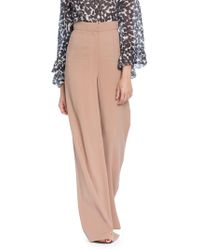 Tracy Reese - Stretch Crepe Palazzo Trousers - Lyst