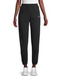 True Religion Women's High-rise Jogger Trousers - Onyx - Size L - Black