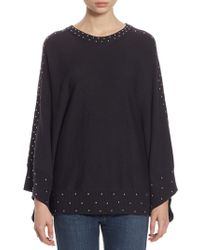 Each x Other - Studded Cotton Poncho - Lyst