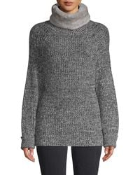 Surell Faux Fur Neck Warmer - Gray
